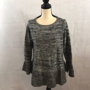 NWT Style &Co. sweater size OX bell type sleeves